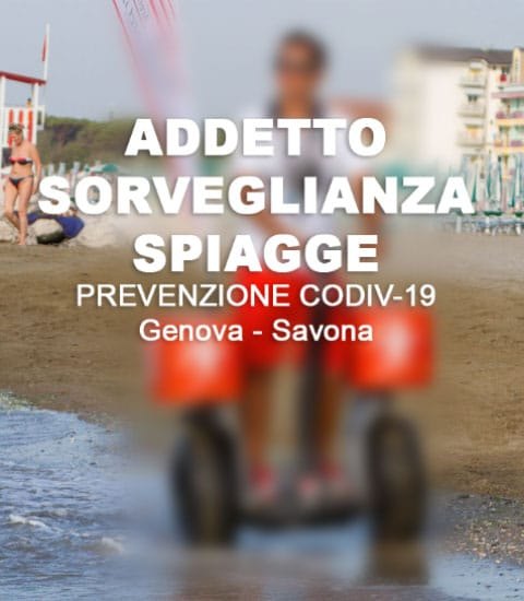 Addetto Sorveglianza Stabilimenti Balneari - Spiagge, Genova - Savona